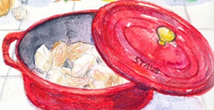 素材の旨味を完璧に簡単に引き出す鋳物ホーロー鍋