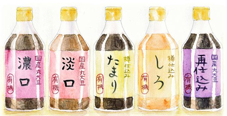 醤油の種類