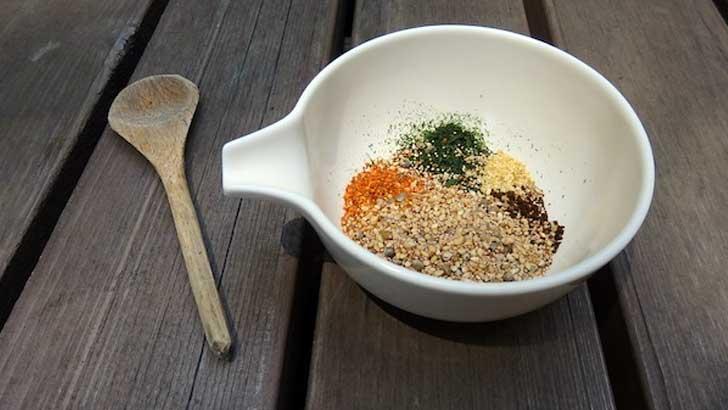 自家製七味唐辛子の作り方